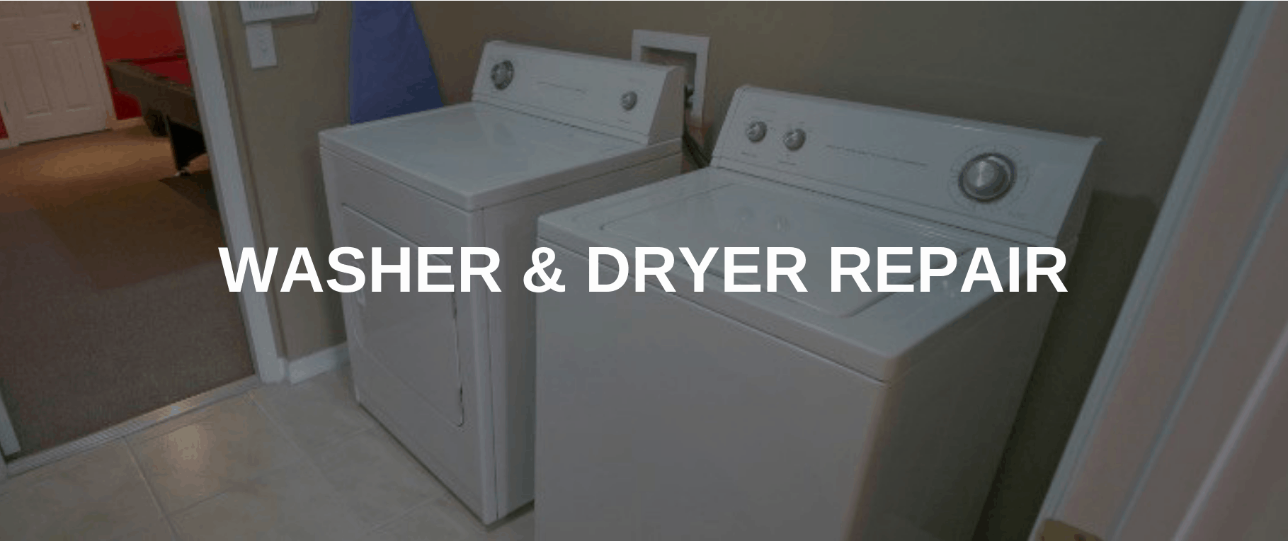 washing machine repair palmdale